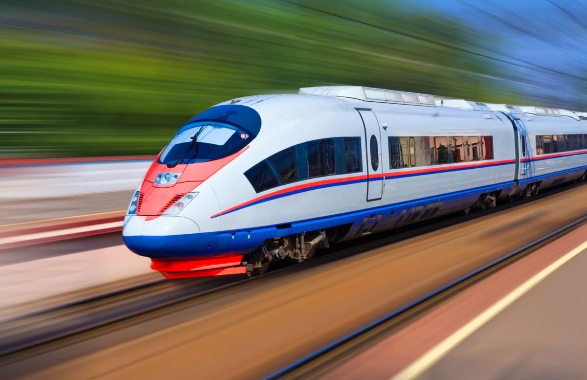 Высокоскоростной наземный транспорт (1000) (№5965) №7724 №5968